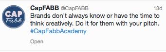 #CapFABBAcademy