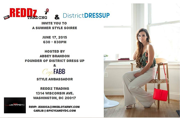 District Dressup Event